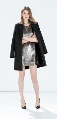 Zara €59.95 - Sequinned dress http://bit.ly/1vKflo3