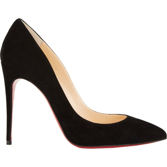 Christian Louboutin €548 - Pigalle Follies Suede http://bit.ly/1yM20Ov