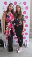 Myself with Ellen at the Young Designer of the Year Show