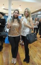 Myself & Lorna at Marion Cuddys Fashion & Fizz