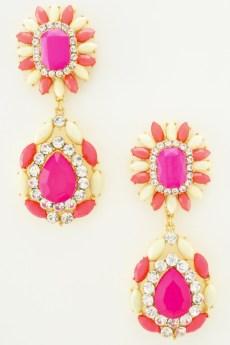 Glitz N Pieces €12 - Pretty Pink Earrings http://bit.ly/15XNNDq