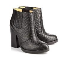 Buffalo @ Arnotts €150 - Jolie Block Ankle Boots Croco Black http://bit.ly/15y3dxk