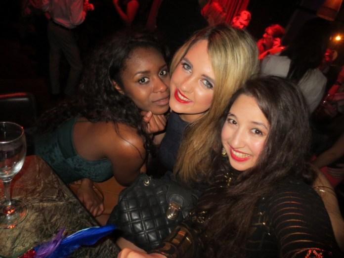 (L-R) Filomena, Lorna and myself