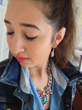 Killer Fashion Nirina YSL Eyeliner Effet Faux Cils