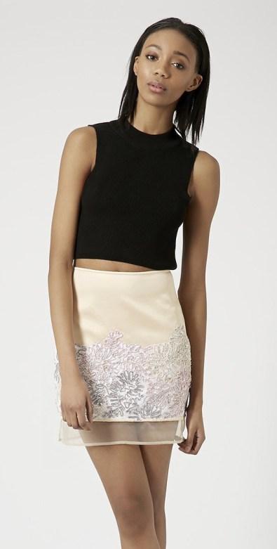 Topshop €89.48/£65 - Mineral Satin Pelmet Skirt http://bit.ly/1G0Hmyz