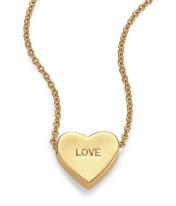 Kate Spade €53.73 - Dear Valentine Love Heart Pendant Necklace http://bit.ly/1LLE9US