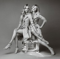 Burberry Cara Delevingne Kate Moss