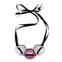 Boticca €76.50 - Lips perspex necklace http://bit.ly/1u89gEx
