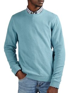 Teal Textured Jumper €18 http://bit.ly/1OmJALi (limited stock)
