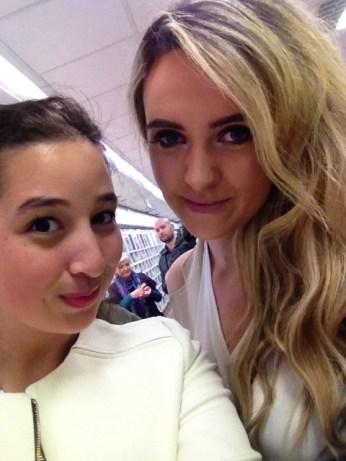 Myself and Lorna
