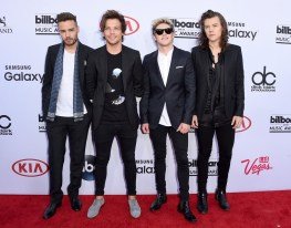 One Direction (L-R) Liam Payne, Louis Tomlinson, Niall Horan & Harry Styles