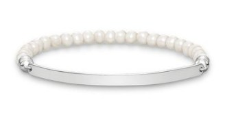 Thomas Sabo €149 - Pearl Love Bridge Bracelet http://bit.ly/1LQjAae