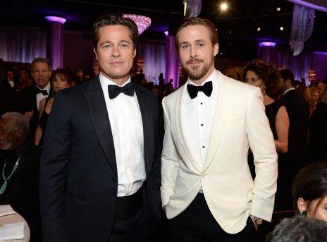 Brad Pitt & Ryan Gosling