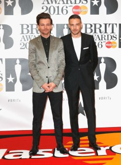 Louis Tomlinson & Liam Payne of One Direction