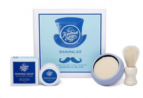 The Handmade Soap @ DEsignist €50 - Shaving Kit http://bit.ly/1SJTGZc
