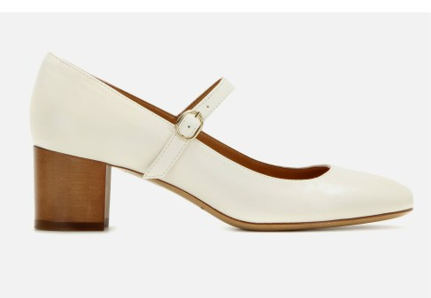 Isabel Marant €290 - Étoile Louanne leather Mary Jane pumps http://bit.ly/1RoB6aR