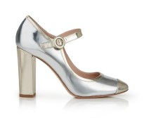L.K. Bennett €352.55 Marla Metallic Mary Jane Block Heels http://bit.ly/1RSUAyx