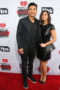 Mario Lopez & Courtney Mazza