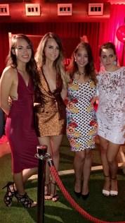 (L-R) Mei Ling, Lorna, myself and Kassi