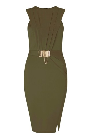 Lipsy @ Next €86 - Love Michelle Keegan Chain Trim Wrap Dress http://ie.nextdirect.com/en/gl63394s3#L47435