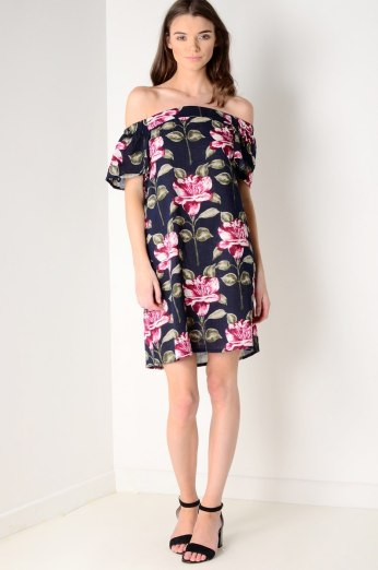 Dresses.ie €35 - Floral Off the Shoulder Dress http://bit.ly/2aLNMGz