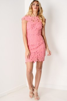 Dresses.ie €70 - Pink Crochet Lace Bodycon https://www.dresses.ie/dress-pink-crochet-lace-bodycon-dress-D136420/