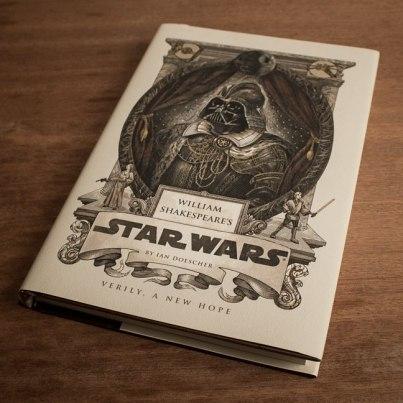 Firebox, €14.19 - William Shakespeare's Star Wars https://www.firebox.com/William-Shakespeares-Star-Wars/p6103