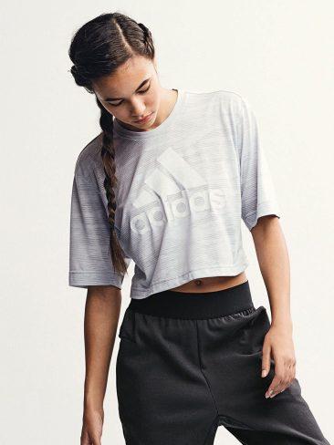 Adidas Grey/Green Marl Logo Tee, €33 http://ie.nextdirect.com/en/g501398s2#427599