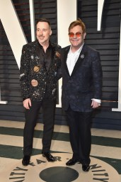 David Furnish & Elton John