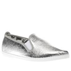 Flossy €41 - Arturo Metallic Flats http://www.schuh.ie/womens/flossy-arturo-metallic-silver-flat-shoes/1356127670/