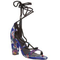 Missguided €38 - Lace Up Tassel High Heels http://www.schuh.ie/womens/missguided-lace-up-tassel-blue-high-heels/1180255070/