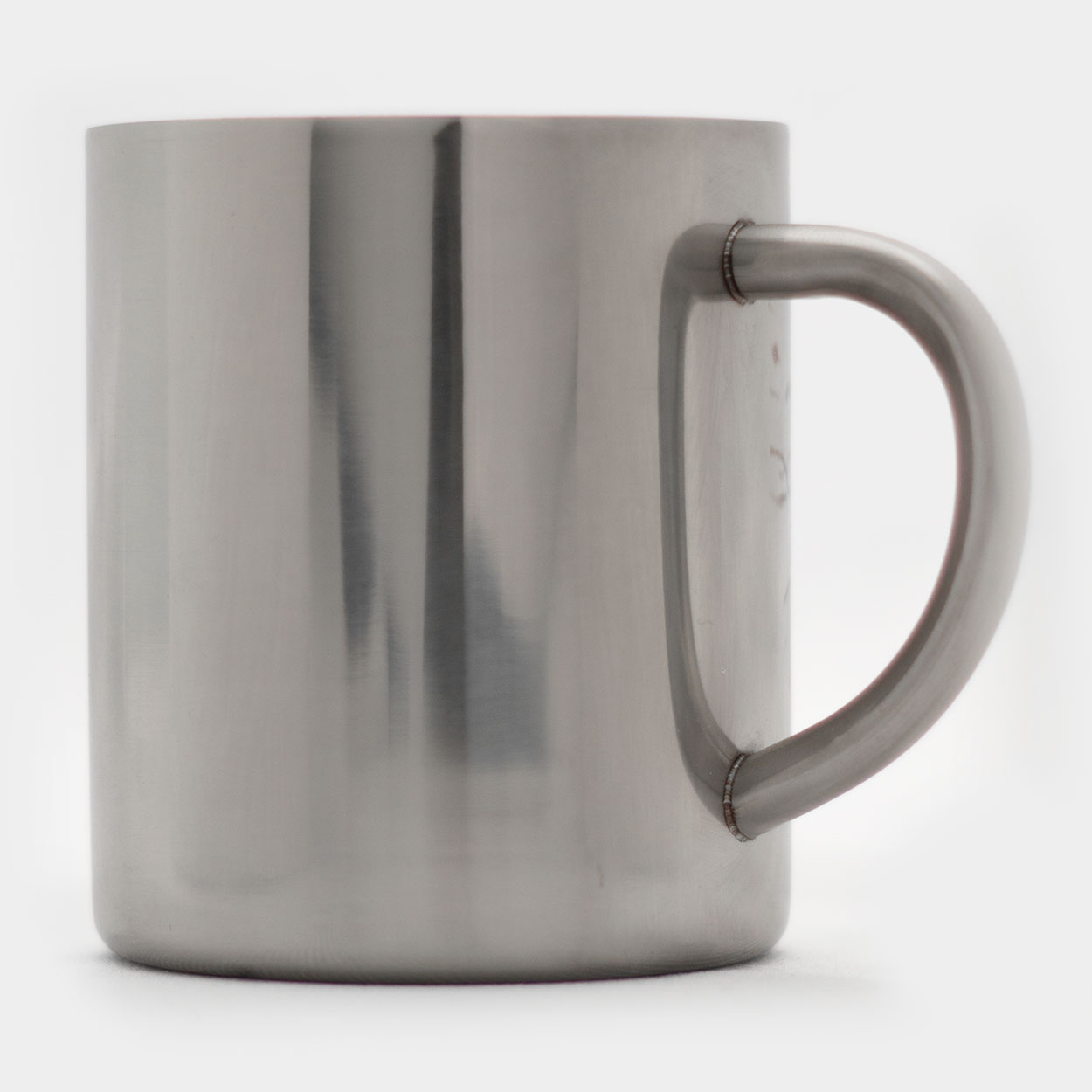 Metal Coffee Mug-Merchandise-Killer Silver