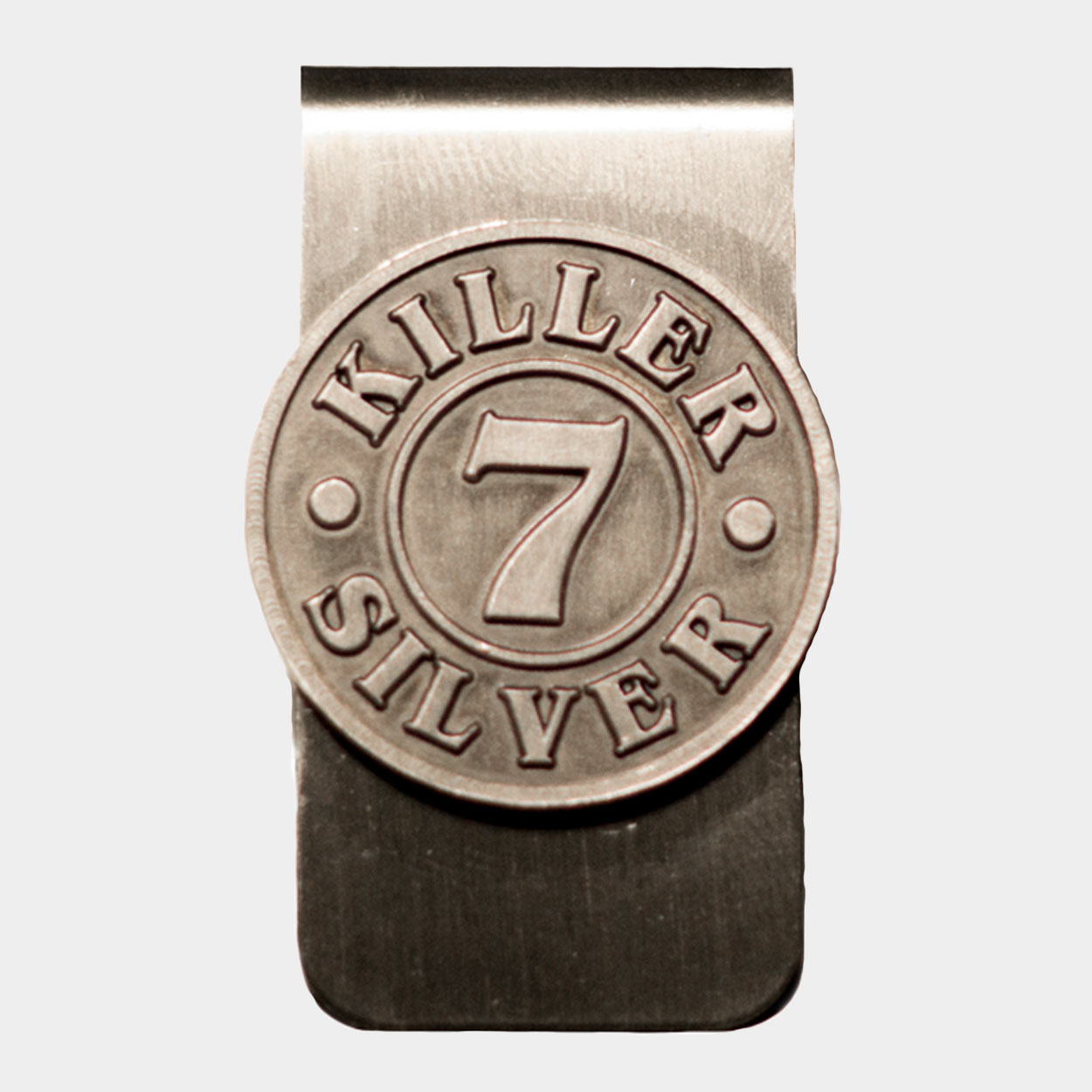 Money Clip -Merchandise-Killer Silver