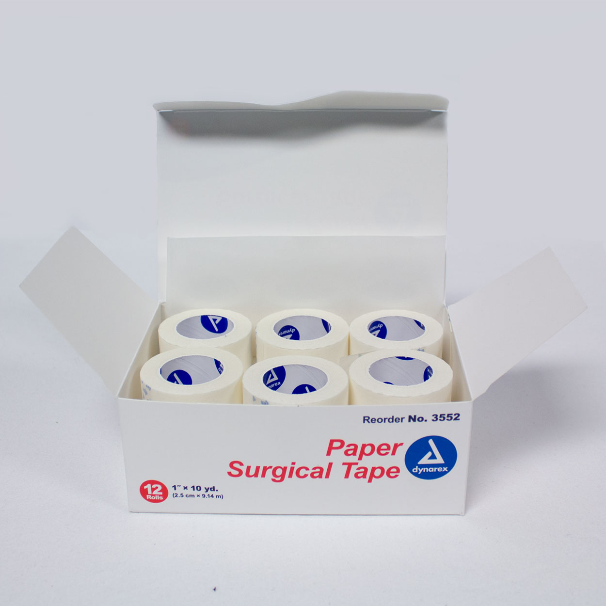 Paper surgical Tape - 1: x 10yards rolls - 12 rolls in a Box - Medical supply - Killer Silver