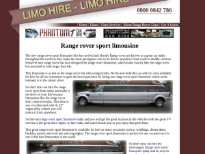 www.rangeroverlimohire.co.uk