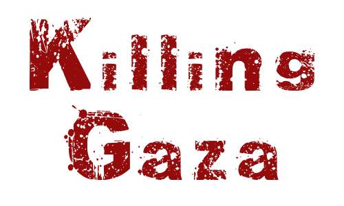 killing gaza logo
