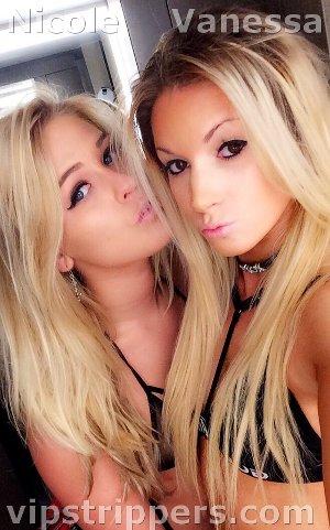 Nicole and Vanessa, Killington strippers