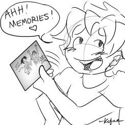 Hachi's reaction (by Kafae)