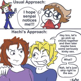 senpai approach