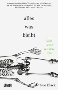 Sue Black, Alles was bleibt Cover