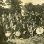 Laune Pipers Band at Caragh Lake 1945