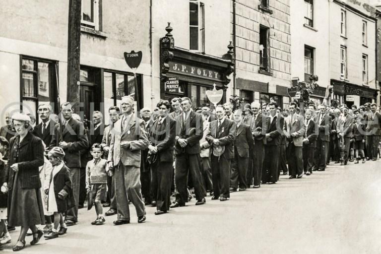 Corpus Christi Procession 1950's