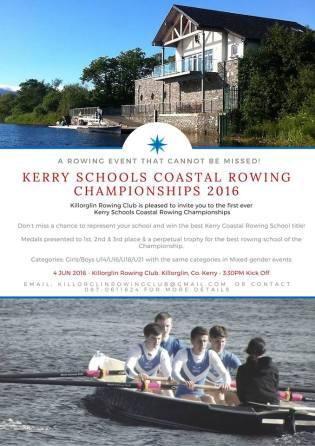 Kerry Schools Coastal Rowing Championships 2016