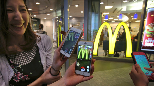 McDonald's Japan is altering the Pokémon GO map - Versions