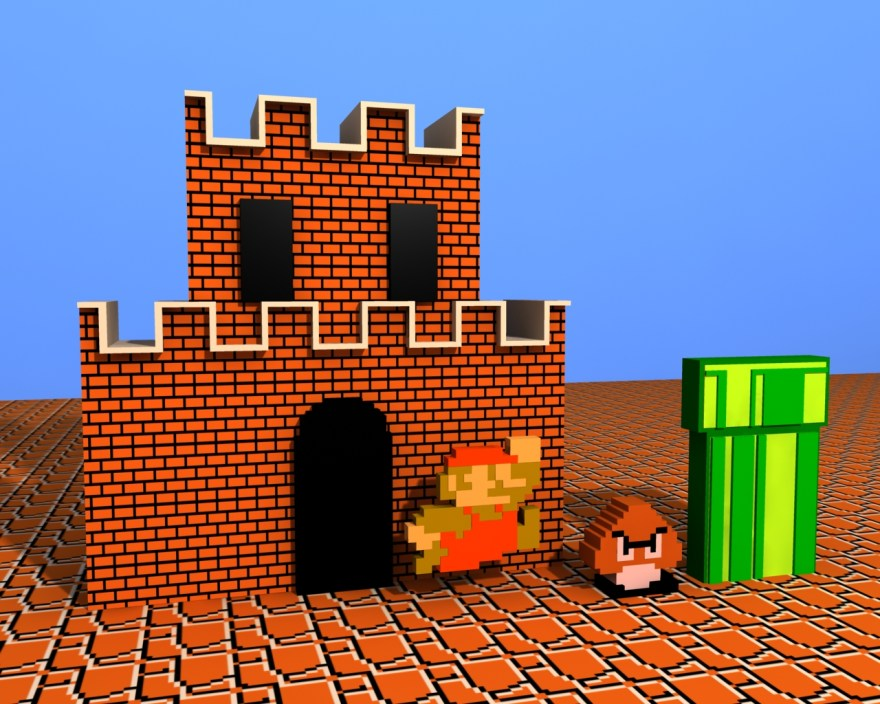Super_Mario_Bros_by_defkoul