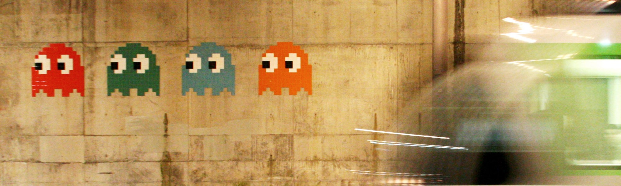Street Art and the 8-Bit Cool - Kill Screen