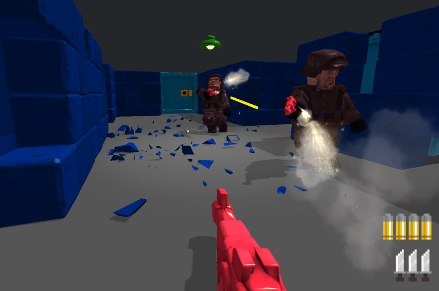 Ragdoll Nazis make Wolfenstein 3D a comical shooter - Kill