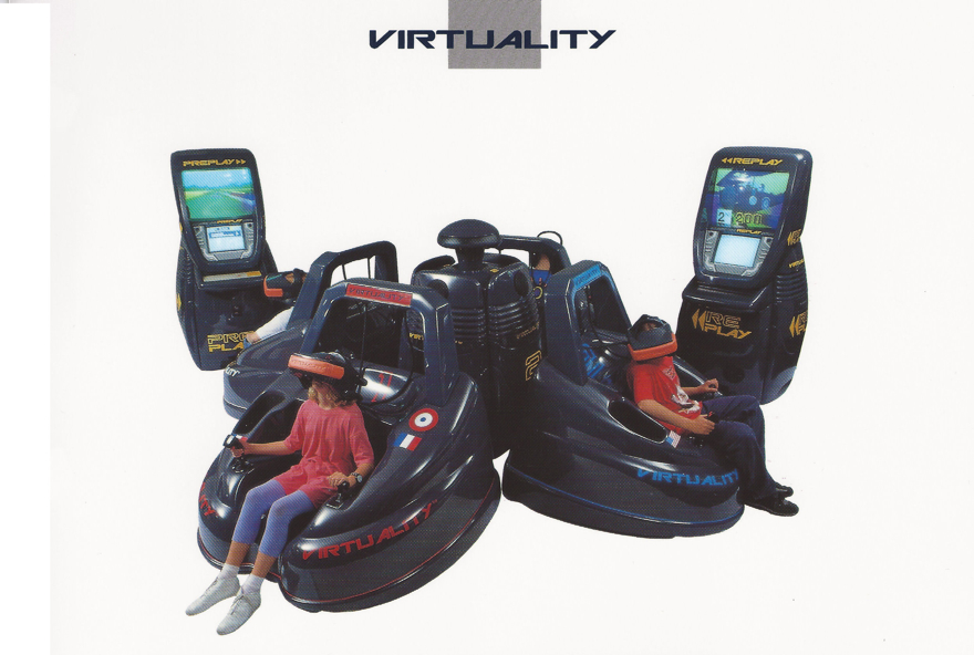 A look back at the doomed virtual reality boom of the 90s