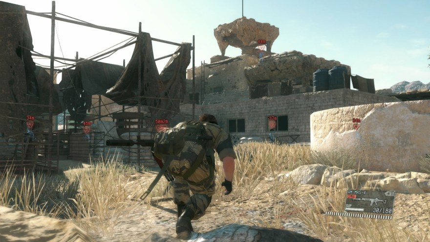 mgsv how to level up soldiers