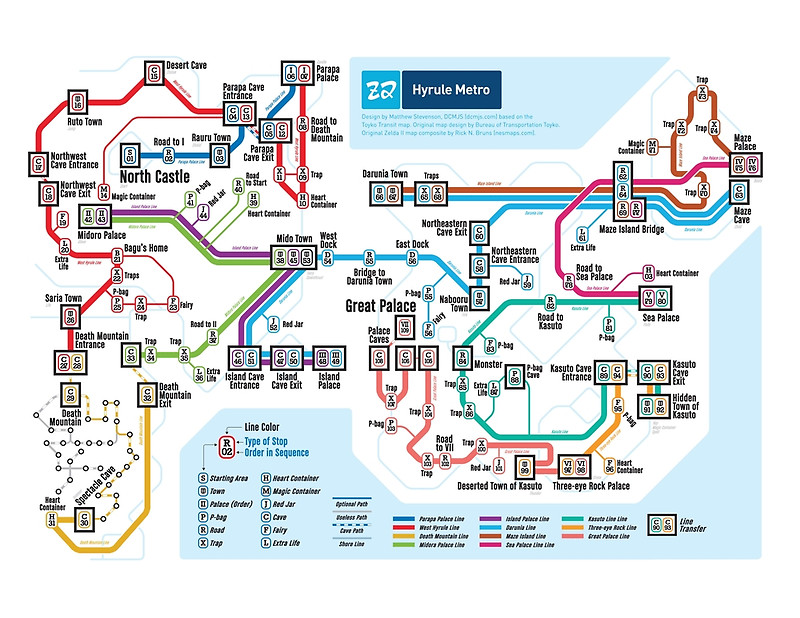 D Subway Map.Classic Videogame Worlds Reimagined As Subway Maps Kill Screen